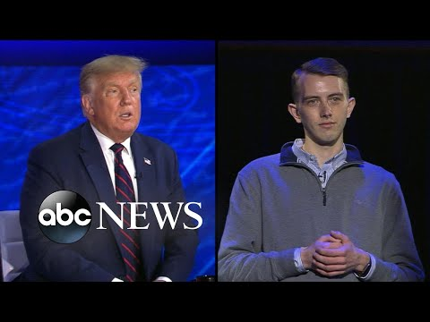 Trump on ABC News town hall: 'We have to give police back that strength'