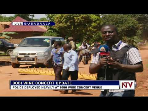 Update on the fate of Bobi Wine's concert