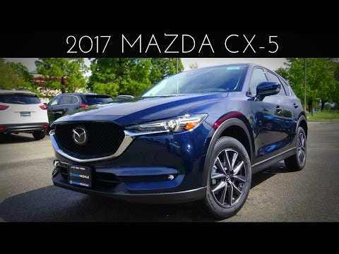 2017 Mazda CX-5 Grand Touring 2.5 L 4-Cylinder Review