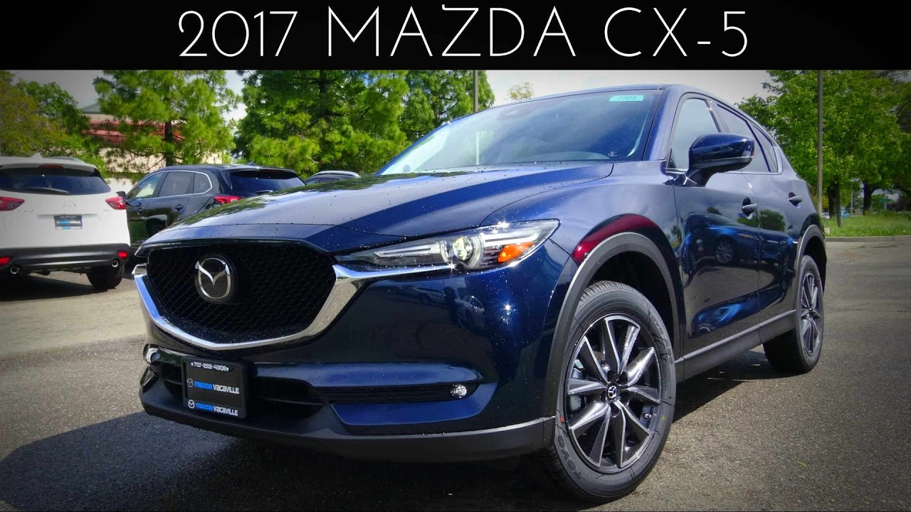 2017 Mazda Cx 5 Grand Touring 2 L 4 Cylinder Review