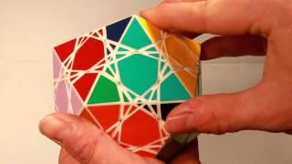 The Cat's Cradle - Face Turning Icosahedron Twisty Puzzle - (radiolarian 5)
