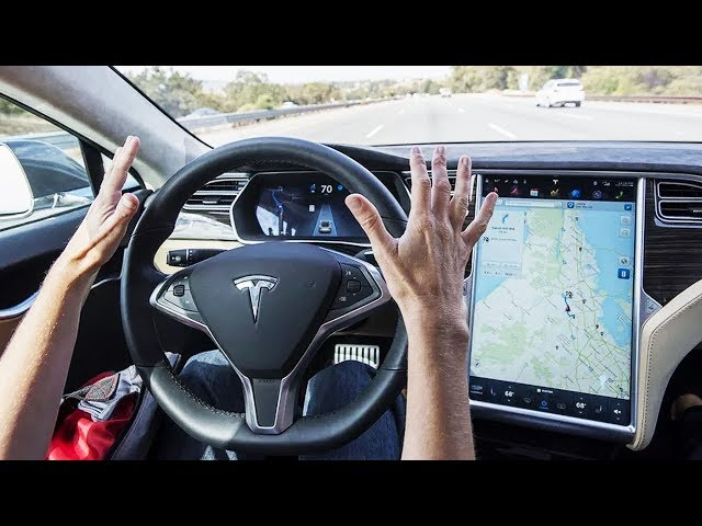 2018 Tesla Model X Full-Self Driving TEST DRIVE - Amazing Autopilot System of Elon Musk  !