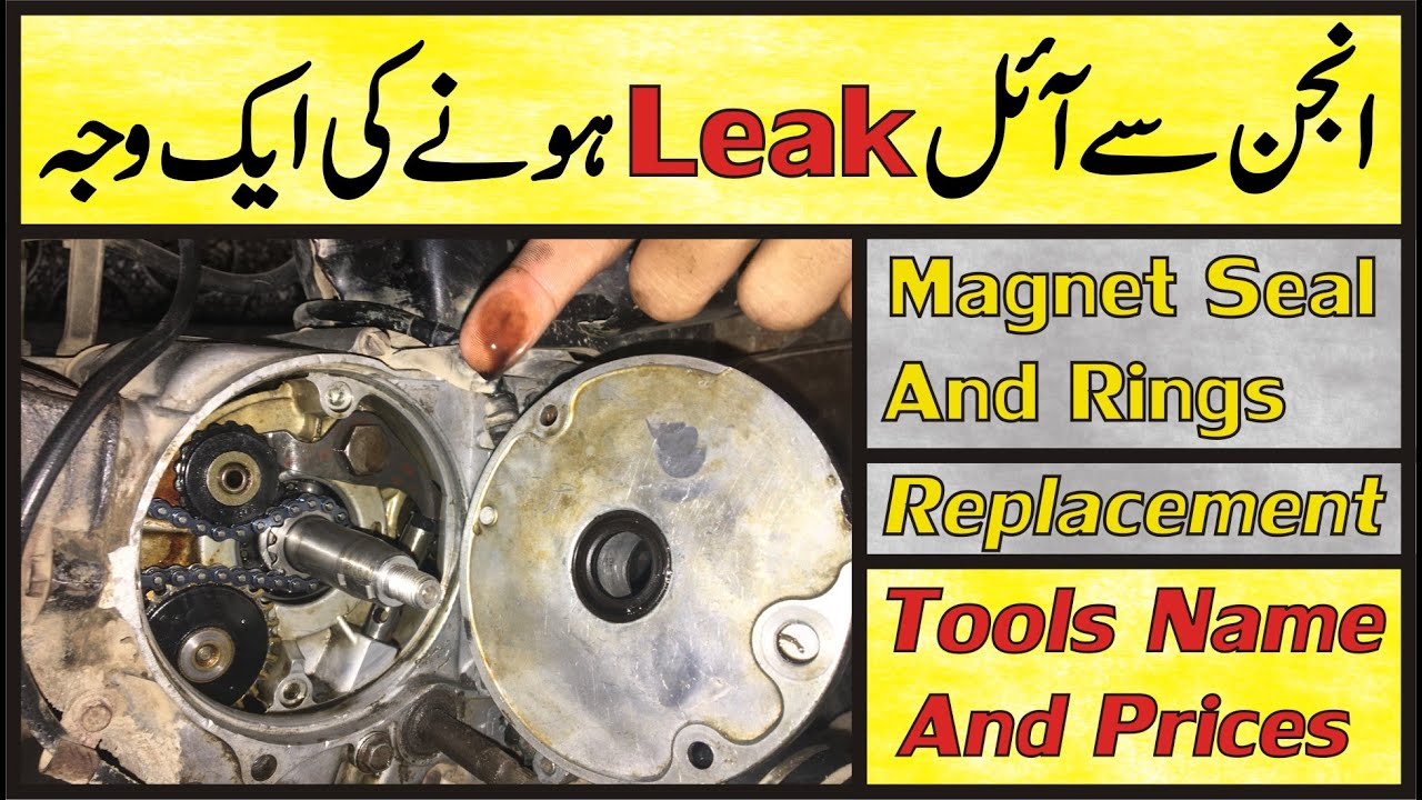 Engine Oil Leakage From Magnet Side In Bike/Honda CD 70 Magnet Seal Leakage In Urdu |Study Of Bikes|