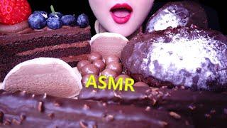 ASMR CHOCOLATE *CAKE, BREADS, …