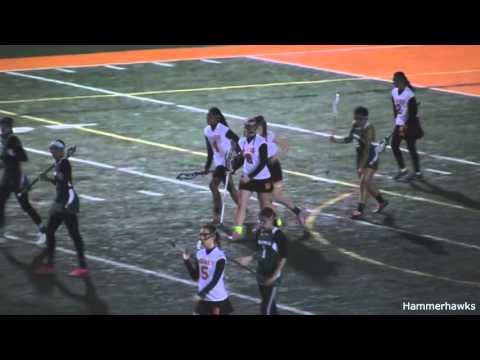 Hayfield vs. Wakefield 3.14.16 Girls Lacrosse