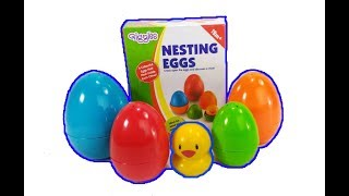 UNBOXING GIGGLES SUPRISE NESTING EGGS! Funskool Surprise Eggs Multicolor Editions Unboxing