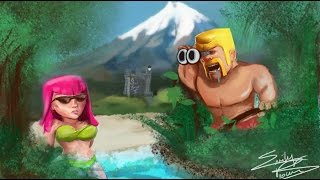 Clash of Clans We are Lost This War Very Sadness and crying All Member.2015