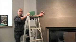 Chapter 6: Finishing Touches - Solus Installing Concrete Fireplace Surround