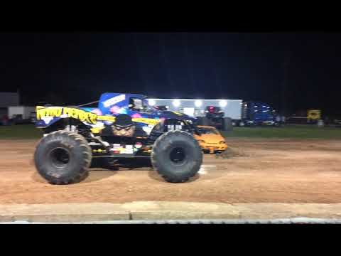 Monster Truck Show - Fond du Lac Wisconsin Sept 29 2017