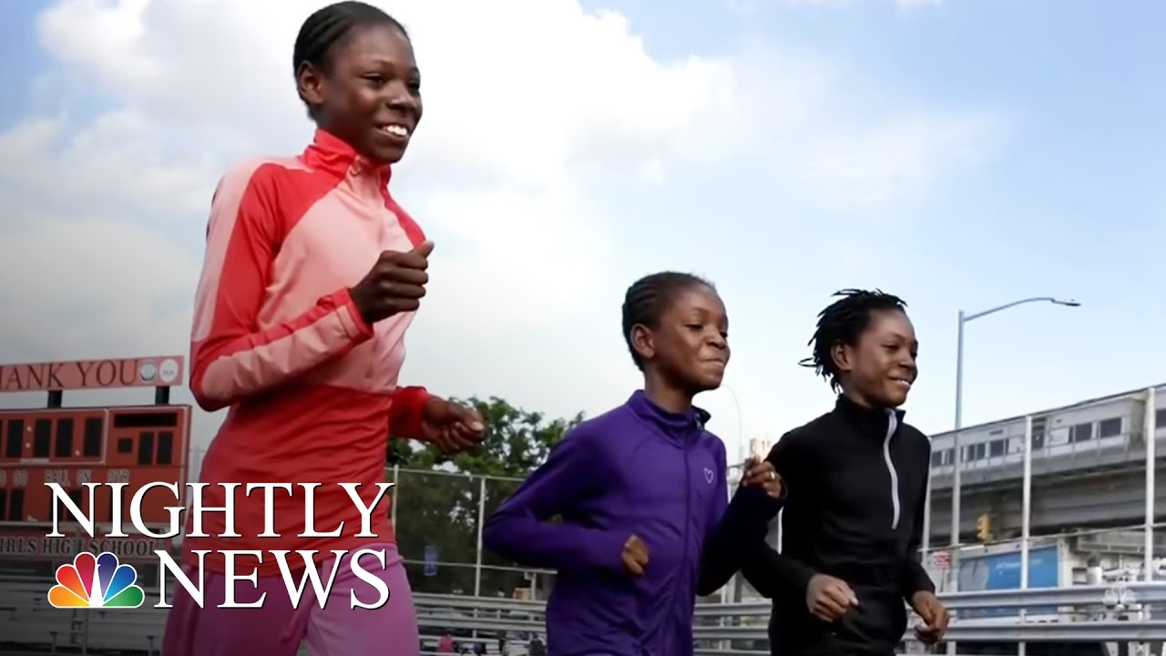 Young And Homeless In America >> Inspiring America Young Homeless Sisters Running For Gold Nbc