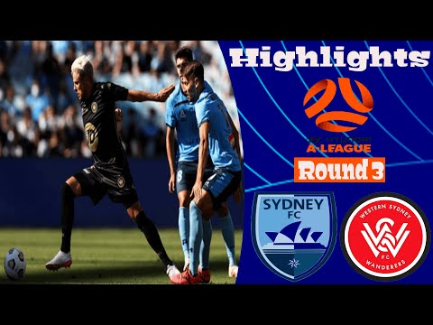 Sydney Western Sydney Wanderers Goals And Highlights