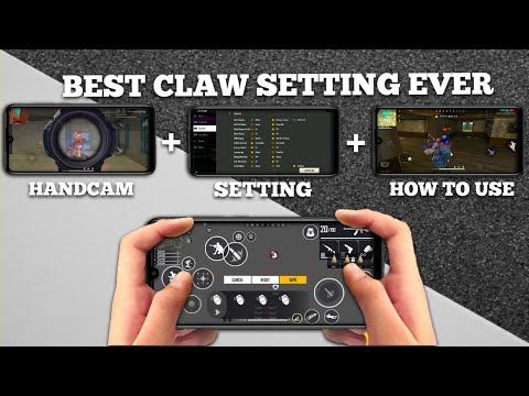 2020 BEST 4 FINGER CLAW SETTING EVAR | FREE FIRE BEST CLAW SETTING (SANDY GAMING)