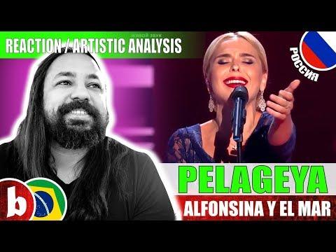 PELAGEYA! Alfonsina Y El Mar - Reaction (SUBS)