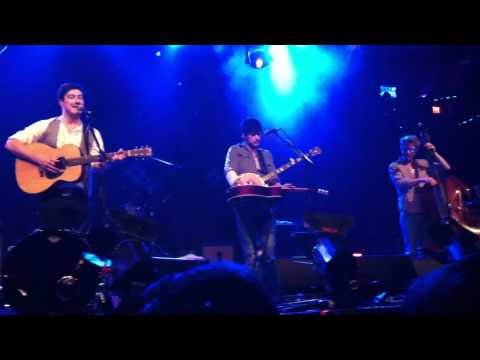 Mumford & Sons - Not in Nottingham (Electric Factory, Philly 11/9/10)