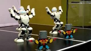 Ubtech Robotics showcase - Alpha 1 Pro and Jimu