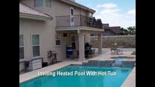 Spacious And Gracious East El Paso Home For Sale With Refrigerated Air & Pool