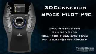Trinity 3D Space Pilot Pro - Demonstration and Features.