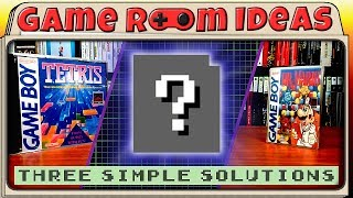 Three New, Easier Game Boy Game Display Solutions - Game Room Ideas