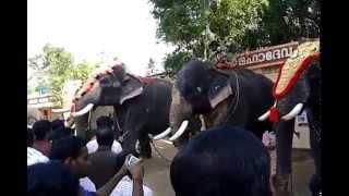 chaithram achu, thrikkadavoor sivaraju in kalanjoor