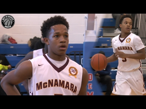 Johnathan McGriff is a SHIFTY Lefty from the DMV!!! 5'11 Sophomore Point Guard