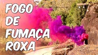 Fogo da fumaça roxa (Superquímica)