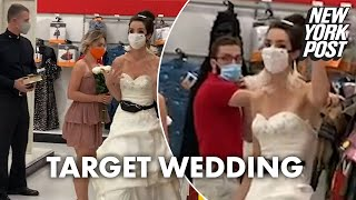 Fed-up bride ambushes fiancé for surprise wedding at Target | New York Post