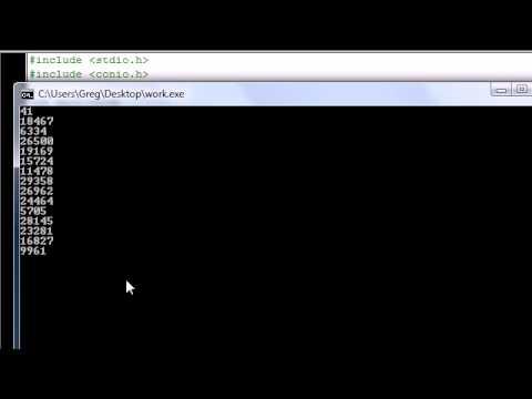 C Programming Tutorial - 12 - Random Number Function