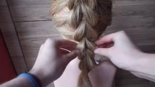 Warkocz Przekładaniec czyli Pull-through braid | CoTyPleciesz