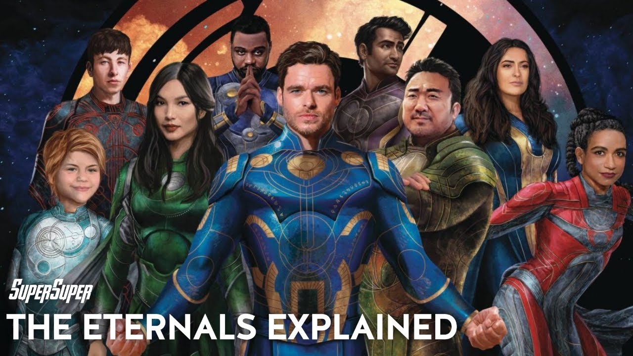 The Eternals Explained in Hindi | SuperSuper