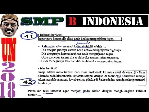 pembahasan-soal-unbk-bahasa-indonesia-2018,-un-smp-no-41-50