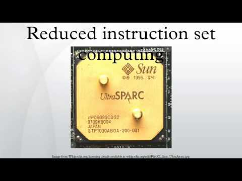 Reduced instruction set computing