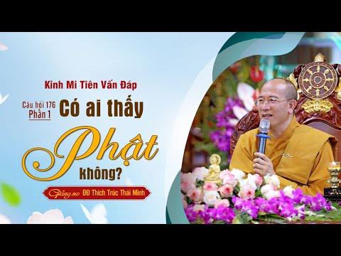 Có Ai Thấy Phật Không? | Kinh Mi Tiên Vấn Đáp Câu 176 - Phần 1
