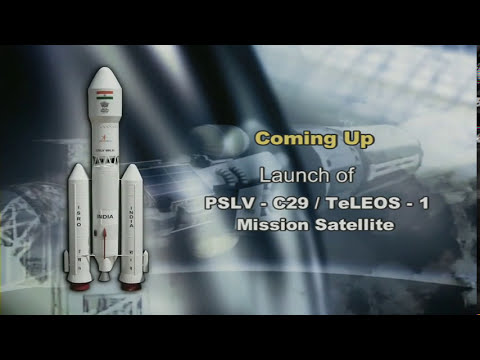 The Launch of PSLV-C29/TeLEOS-1 Mission Satellite from SDSC-SHAR -LIVE