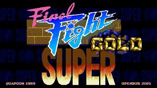Super Final Fight Gold OPENBOR 720P HD Playthrough with CODY