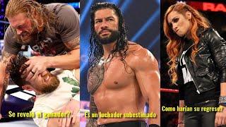 Edge Ganará el Titulo Universal Roman Reigns es Subestimado Becky Lynch y su Regreso a WWE