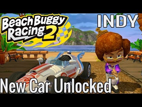 Beach Buggy Racing 2 | Indy New Car Unlocked | Disco Jimmy Game Play
