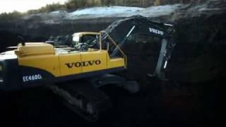 Volvo C-series excavators Presentation