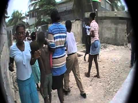 Just Minutes After After The Earthquake in Haiti (Carrefour, Port-Au-Prince) Part 2
