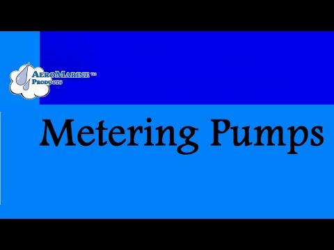 AeroMarine Metering Pump