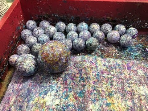 """🎥  70 Acres Studio Thursday Live Stream - """"Marbled"""" Painty Papers - Not What You Think"""