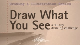 Drawing an everyday object for my 30-day Draw What You See challenge