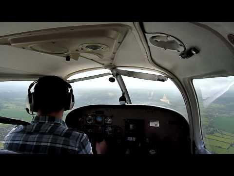 Solo flight - JAR PPL Exercise 18 circuit rejoins