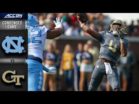 North Carolina Vs. Georgia Tech Condensed Game | ACC Football 2019-20
