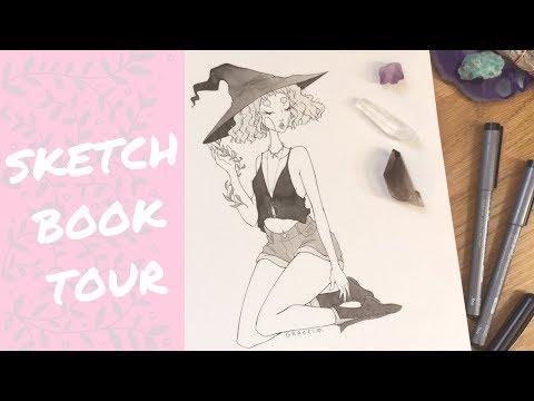 Inktober 2017 Sketchbook Tour!