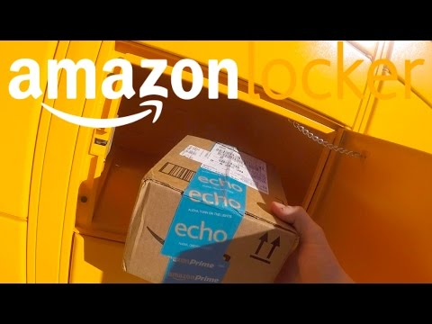 Getting Packages on the road With Amazon Locker
