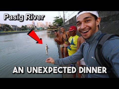 Fishing At Pasig River (I Had Dinner With The Batang Ilog)