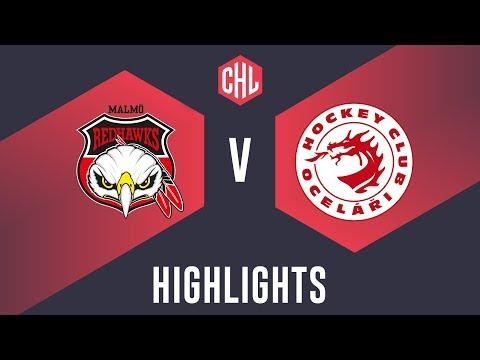 Highlights: Malmö Redhawks vs. Oceláři Třinec