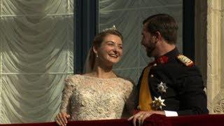 Mariage du grand-duc héritier de Luxembourg