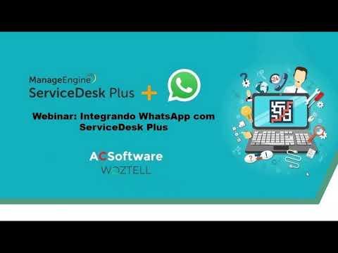 Integrando WhatsApp com ServiceDesk Plus