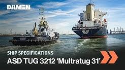 Azimuth Stern Drive Tug 3212 'Multratug 31'